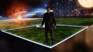 نیل دگراس تایسون در نمایی از سری جدید Cosmos
