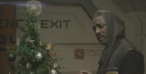 ادریس آلبا در نقش کاپیتان جناک