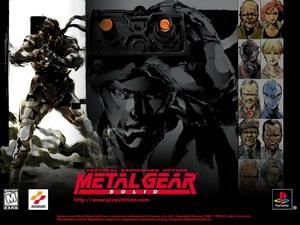 کاور قسمت اولی بازی Metal gear Solid